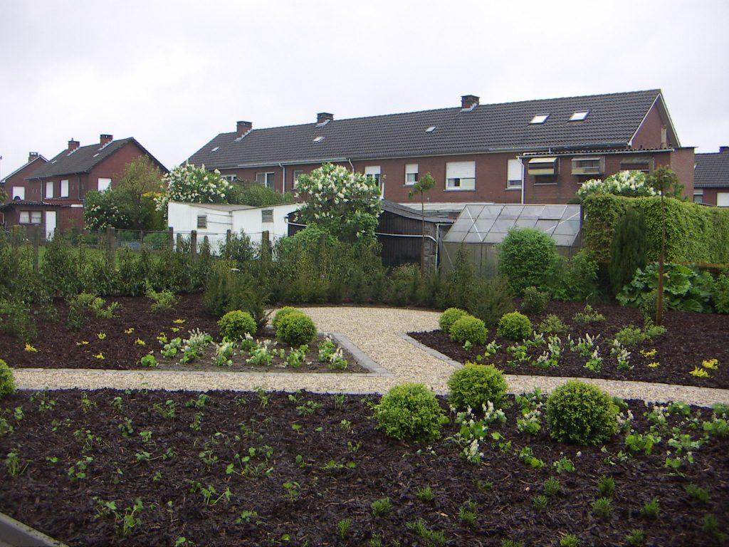 Green Garden - Aanleg gazon + beplanting 3